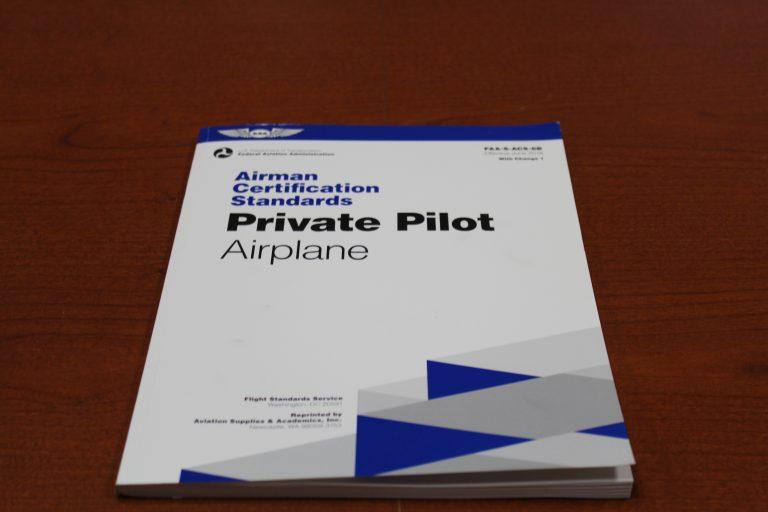 rating airman certification standards pilot